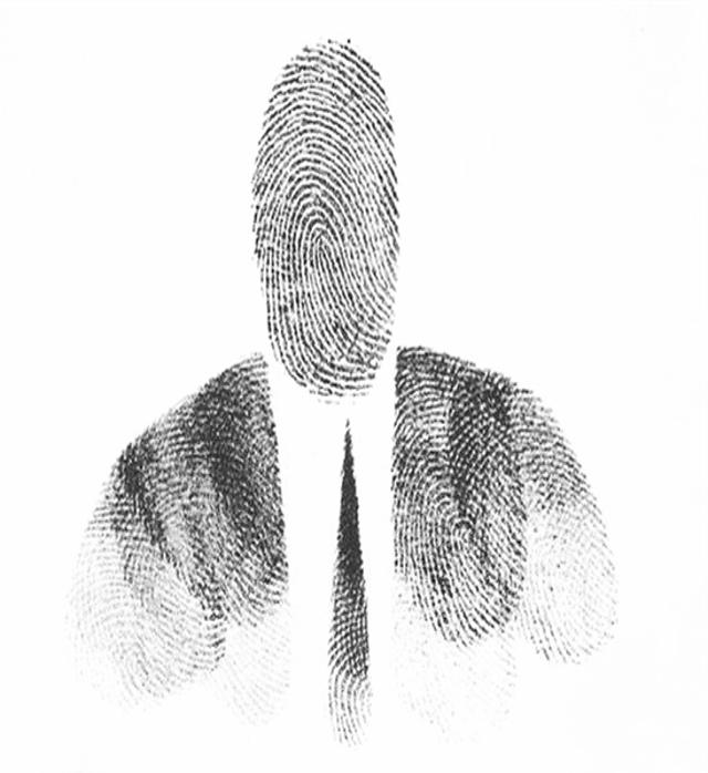 линии отпечатки